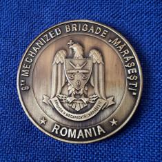 "Medalie militara Brigada 9 mecanizata "" Marasesti "" - Constanta"