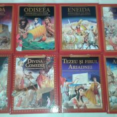 Colectia MITURILE SI LEGENDELE LUMII biblioteca ADEVARUL 8 volume - Carte educativa