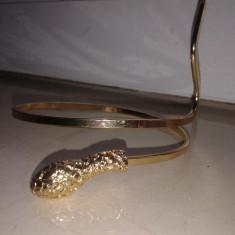 SARPE BRATARA AURIE - Argint, Salba