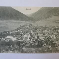 Carte postala necirculata Zărnesti anii 20, Printata