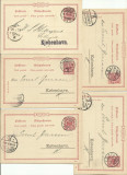Lot de 85 carti postale colet - Deutsches Reich circulate inainte de 1900