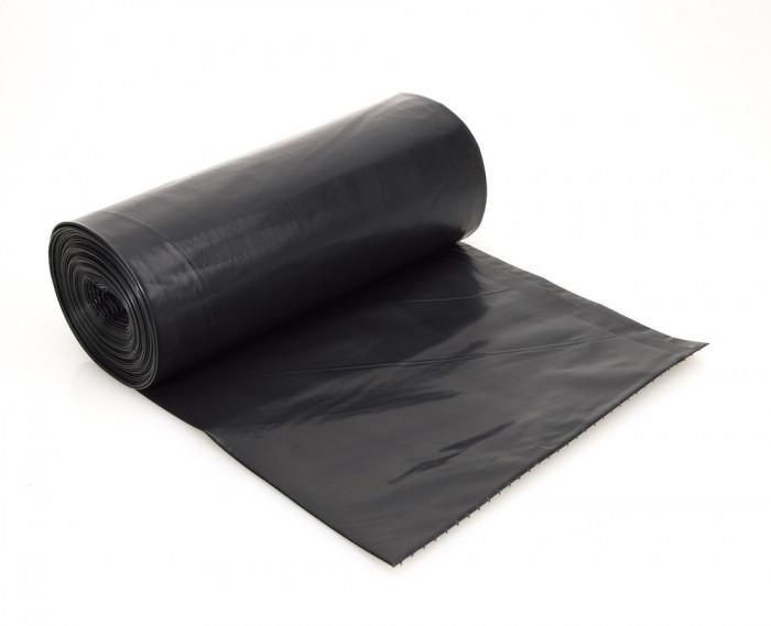 Saci menaj, negru, 20 litri (40 role/bax)