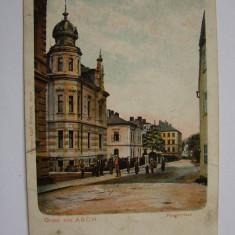 Carte postala Gruss aus ASCH (Cehia), anii 1900, Necirculata, Printata