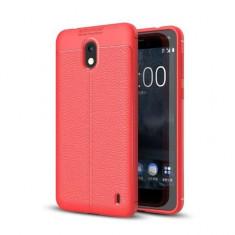 Husa Nokia 2 TPU Grain - Husa Telefon, Rosu, Silicon, Carcasa