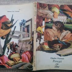 Povesti cu zane - Charles Perrault/ ilustratii Val Munteanu - Carte de povesti