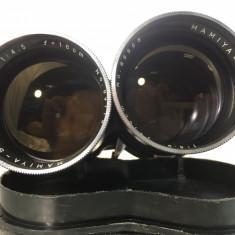 Obiectiv Mamiya TLR 180mm f4.5 sticla impecabila - Aparate Foto cu Film