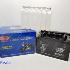 Baterie - Acumulator Moto Scuter 12BW ( volti ) 8A ( amperi ) ( ACID )