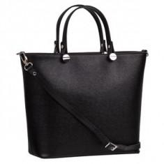 Brastini La Giulia piele geanta de mana neagra - Geanta Dama