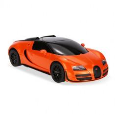 Masinuta Rastar Bugatti Veyron Grand Sport Vitesse Scara 1:24 Portocaliu