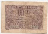 ROMANIA 1 LEU 1937 VF