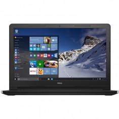 Laptop Dell Vostro 3568 15.6 Inch HD, Intel Core I3-6006U, 8 GB DDR4, 256 GB SSD, Intel HD 520, Windows 10 Pro, Negru