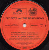 Fat Boys and The Beach Boys - Wipeout 1987 disc vinil Maxi Single