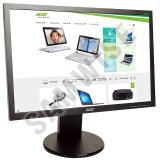 Monitor LCD 19 ACER B193W, 1440 x 900, Widescreen, 5ms, VGA, DVI, Cabluri incluse