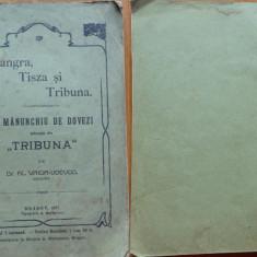 Vaida Voievod , Mangra , Tisza si Tribuna ,Un manunchi de dovezi , Brasov , 1911