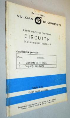 Parti specifice centrale circuite in clasificare zecimala. Vulcan Bucuresti foto
