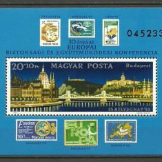 Ungaria 1982 - cooperare si securitate, colita neuzata - Moneda Medievala