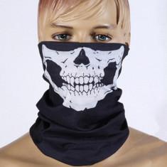 BANDANA CU CAP DE MORT v2 cagula schelet skelet PAINTBALL AIRSOFT MOTO masca