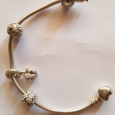 Brătara din argint Pandora - Bratara argint
