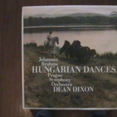 BRAHMS - Dansurile ungare Nr. 1, 3, 10, 11 etc.Prague Symphony -Disc pick-up vinil - Muzica Clasica Supraphon