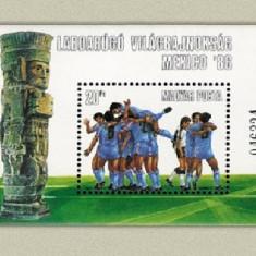 Ungaria 1986 - CM fotbal, colita neuzata