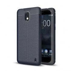 Husa Nokia 2 TPU Grain - Husa Telefon, Albastru, Silicon, Carcasa