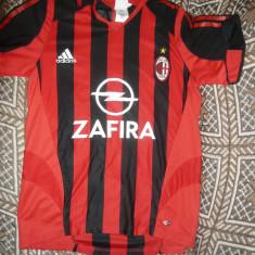 Tricou al Echipei AC Milan, Jucator -brazilianul KAKA, marca Adidas, marime S - Tricou echipa fotbal, Marime: S, Culoare: Rosu