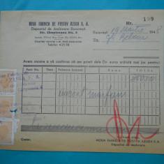 HOPCT DOCUMENT VECHI FISCALIZAT NR 248 FABRICA DE POSTAV AZUGA JUD PRAHOVA 1948