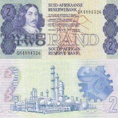 AFRICA DE SUD 2 rand ND (1983-90) P-118d UNC!!! - bancnota africa