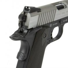 Pistol Airsoft Colt M1911 Rail Gun Silver CO2 Cybergun