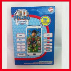 Telefon jucarie 4D - smartphone copii - jucarie interactiva si educativa, 18-24 luni, Unisex