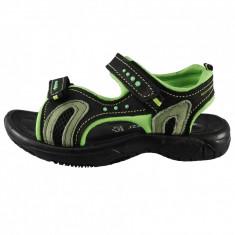Sandale copii, din piele naturala, marca Marco Tozzi, culoare negru, marimea 38, Unisex