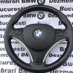 Volan sport LCI Facelift BMW E87,E90,E91,E92,E93,X1 complet, 3 (E90) - [2005 - 2013]