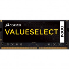 Memorie notebook Corsair ValueSelect, 4GB, DDR4, 2133MHz, CL15, 1.2v - Memorie RAM laptop