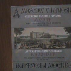 MOZART - Trei divertismente pentru vioară KV 136, 137, 138 - Disc pick-up vinil - Muzica Clasica Melodia