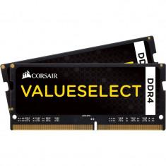 Memorie notebook Corsair ValueSelect, 8GB, DDR4, 2133MHz, CL15, 1.2v, Dual Channel Kit - Memorie RAM laptop