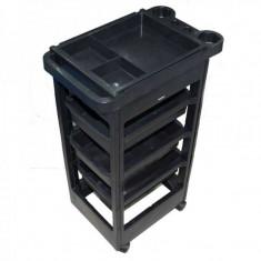 Ucenic cosmetic cu 3 sertare UM1, negru