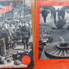 Revista de razboi germana Signal , in limba franceza , nr. 7 , 1940