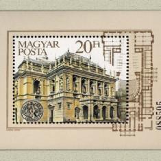 Ungaria 1984 - 100th Opera, colita neuzata - Cambie si Cec