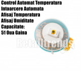 Incubator Clocitoare 51 Oua Ou Pui Gaina Dispozitiv Intoarcere Electric Automat