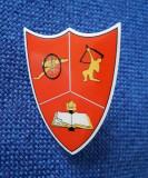 """Insigna Centrul de instruire pt. Artilerie mixta si antiaeriana - """" Ioan Voda """""""