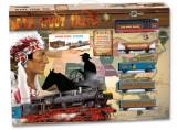 Trenulet copii Vestul Salbatic, Seturi complete, Pequetren