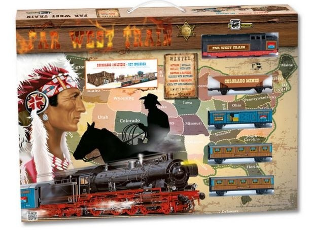 Trenulet copii Vestul Salbatic
