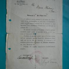 HOPCT DOCUMENT VECHI 262 ASOCIATIA CATOLICILOR DIN BUCURESTI 1937