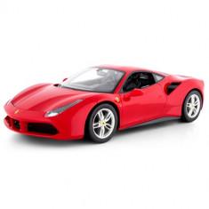Masinuta Rastar Ferrari 488 GTB, Scara 1:14 Rosu