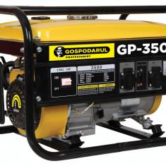 Generator pe benzina Gospodarul Profesionist GP 3500 2800W electric 7 Cp 4 timpi, Generatoare uz general