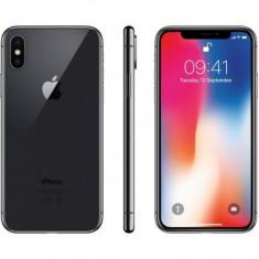 Iphone X 256GB space grey, silver sigilat nou codat orange romania, aPRET:4850lei - Telefon iPhone Apple, Negru