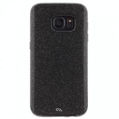 Husa Fashion Case-Mate Sheer Glam pentru Samsung Galaxy S7, Noir - Husa Telefon Case-Mate, Gel TPU
