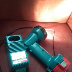 Incarcator-acumulator-lanterna makita