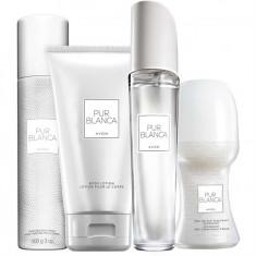 Set Femei - Pur Blanca - Parfum, Lotiune corp, roll-on, Spray corp - Avon - NOU - Set parfum