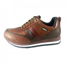 Pantofi barbati, din piele naturala, marca Pikolinos, culoare coniac, marimea 39, Casual